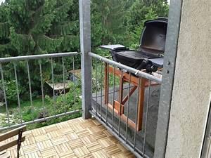 Griller Für Balkon : weber q am balkongel nder grillforum und bbq ~ Whattoseeinmadrid.com Haus und Dekorationen