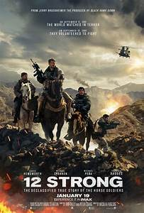 12 Strong Movie Poster : Teaser Trailer