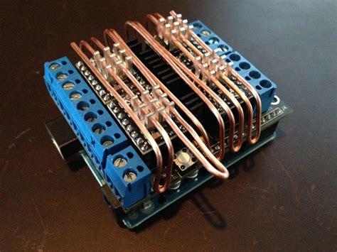 custom copper heat sink the shapeoko forum view topic custom heat pipe on a