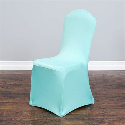 Stretch Banquet Chair Cover Turquoise