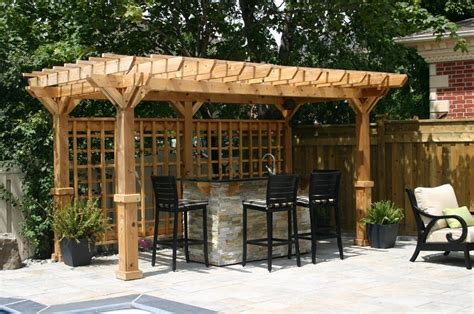 Backyard Bar Designs by Landscape Designer The Backyard Living Space