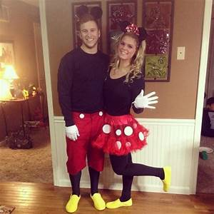 Mickey Mouse Kostüm Selber Machen : cute diy minnie mouse costume for couples google search halloweeeeeenn ~ Frokenaadalensverden.com Haus und Dekorationen