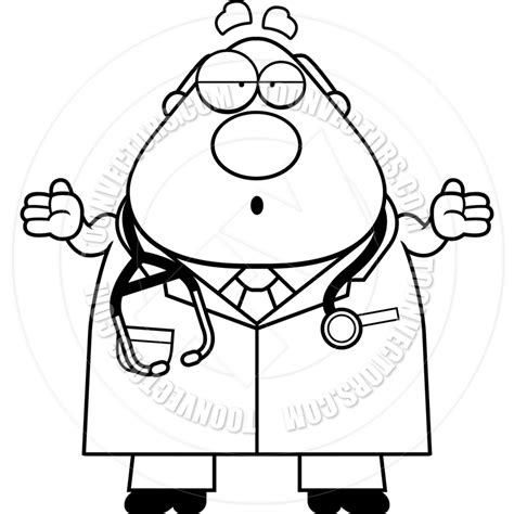 doctor black and white doctor black and white clipart clipart suggest