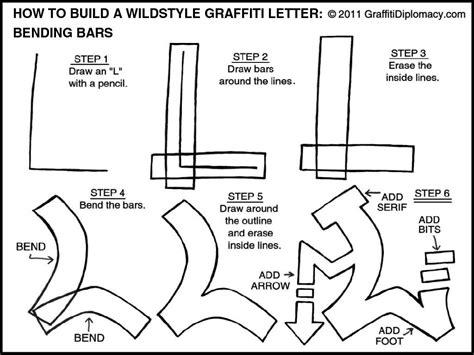 draw wildstyle graffiti letter  graffiti