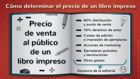 como determinar el precio de  libro impreso