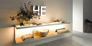 Wandregal Holz Design : wandregal 100 gera leuchten und lichtsysteme ~ Sanjose-hotels-ca.com Haus und Dekorationen