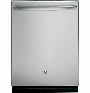 Ge U00ae Stainless Steel Interior Dishwasher With Hidden