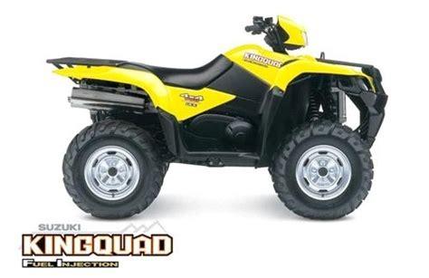 Suzuki King 700 Parts by 2008 Suzuki Kingquad Sport Utility Atv Lineup History