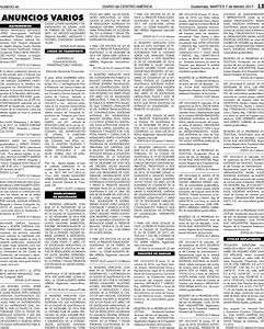 Sumario Legal 07022017 By Diario De Centro Am U00e9rica Guatemala