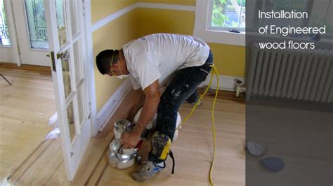 how to clean engineered hardwood floors after installation engineered wood floors in central maryland