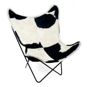 Cowhide Chair Covers by Classic Cover Cowhide Leather Bkf Butterfly Chair Only