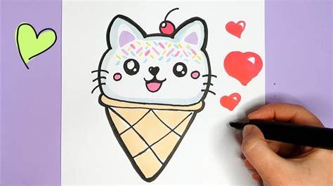 kawaii katze eis zeichnen und malen kawaii bilder youtube