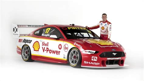 Scott Mclaughlin, Fabian Coulthard's Mustang Launched For