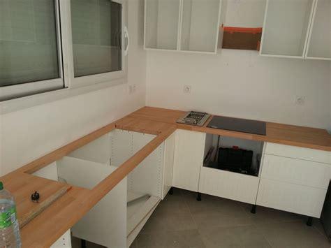 comment faire un plan de travail cuisine fabriquer meuble salle de bain avec plan de travail