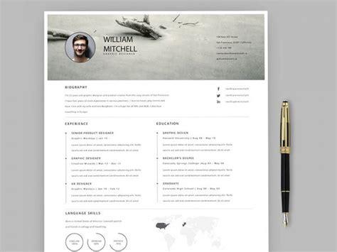 Adobe Illustrator Resume Template by Free Resume Templates In Illustrator Format 2019 Resumekraft