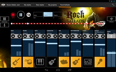 maker for android new app maker jam is a windows song mixing app