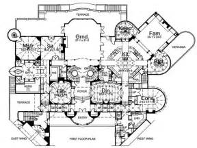 Medieval Castle Floor Plan Blueprints