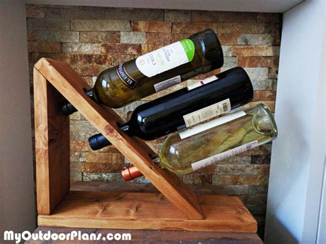 diy table wine rack myoutdoorplans  woodworking