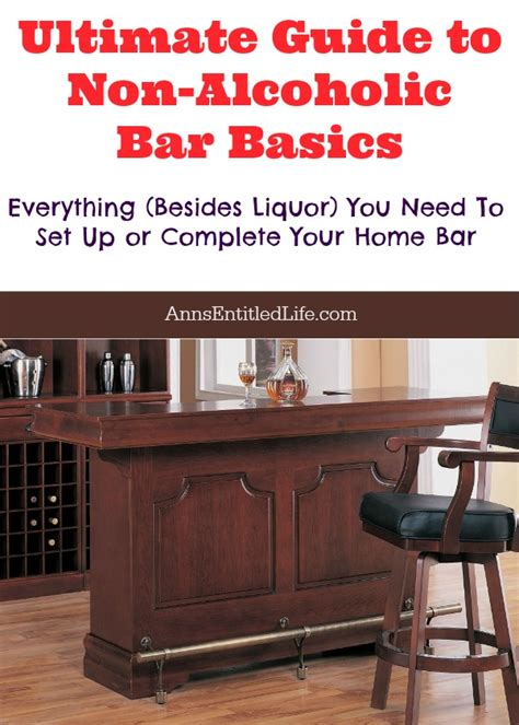 Complete Bar by Ultimate Guide To Non Alcoholic Bar Basics