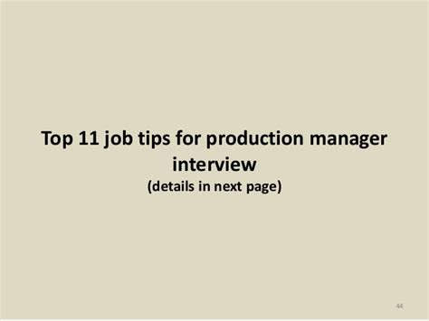 Questions For Production Manager And Answers by Top 36 Production Manager Questions And Answers