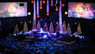 set design christmas ave services