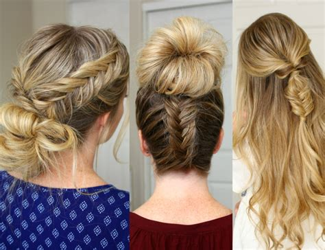 3 Fishtail Braid Hairstyles Hairstyles For Anime How To Make A Big Hair Bow Easy Tutorial Wedding Down Fishtail Braids Oval Faces And Thin Straight 2 Easiest Way Curl Your With Curling Wand Save Damaged Curly Short Term Blonde Dye