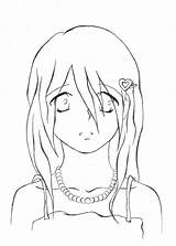 Sad Crying Anime Drawing Boy Template Coloring Sketch Deviantart Getdrawings Templates sketch template