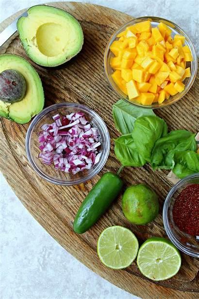 Salmon Mango Avocado Salsa Spiced Eat Mentioned