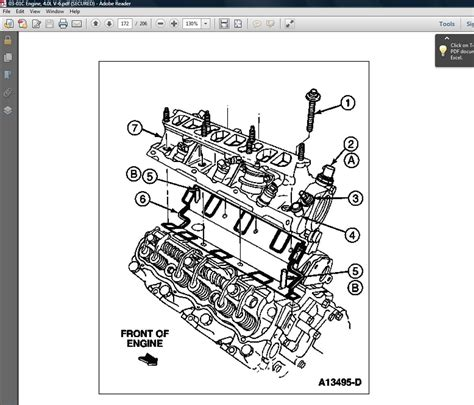 Ford 4 0 Liter Engine Diagram by Ford Repair Station