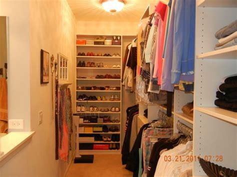 narrow closet like ours damn closet