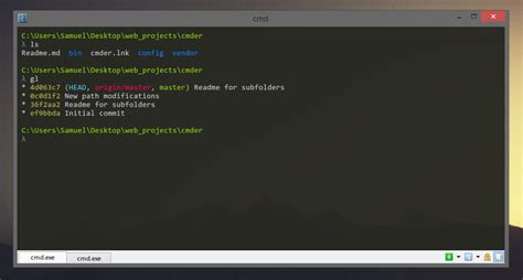 Open atom in git bash (windows 10) if you are wondering how to install git bash in windows, you can learn that from jason taylor's. Cmder Download Free for Windows 10, 7, 8 (64 bit / 32 bit)