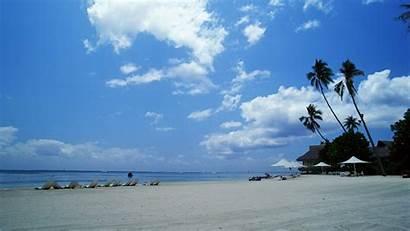 Tahiti Deslumbrantes Blanca Fondos Playa Arena Fonds