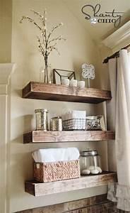 diy floating shelves reclaimed wood – woodguides