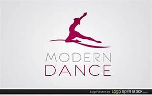 Free Vectors: Modern Dance Logo | Music | Logo Open Stock