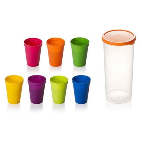 Then hold the menstrual cup using fingers of one hand at the possible lowest position. AkoaDa Rainbow Cup Set Picnic Travel Hand Cups Color ...