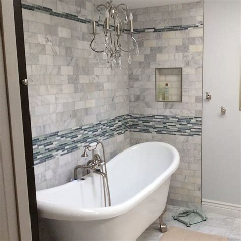 refresh  bathroom  replacing drab shower tile