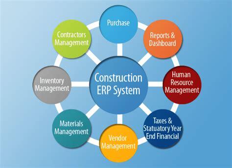 comparison   construction erp software options