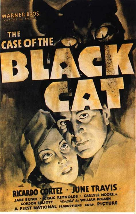 The Case Of The Black Cat Movie Posters From Movie Poster Shop