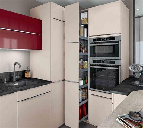 meuble cuisine petit espace cuisines petits espaces mobalpa