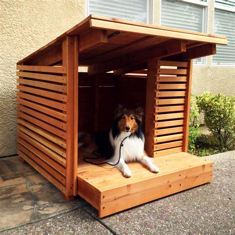 luxury dog houses   modern pup