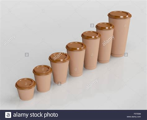 Get the coffee cup size wrong and your favourite caffeinated beverage may feel off. Brown paper coffee cups with different sizes Stock Photo: 89659128 - Alamy