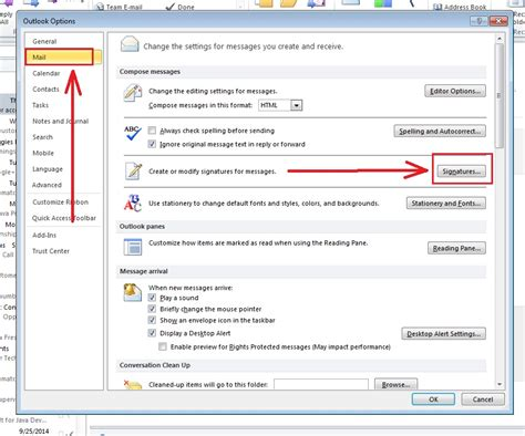 How To Put Signature In Outlook 2010 4 Steps (with Images