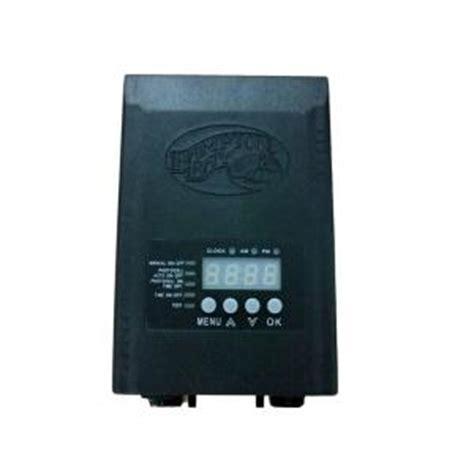 hton bay low voltage 45 watt landscape transformer sl