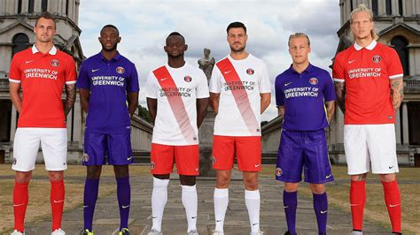 Nike Charlton Athletic 15-16 Kits Revealed - Footy Headlines