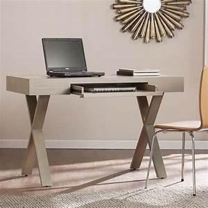 Southern enterprises walcott writing desk in warm gray for In home furniture enterprise