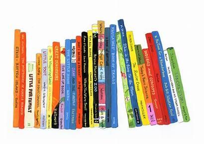Books Children Clipart Childrens Shelf Types Clip