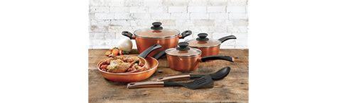 amazoncom gibson cuisine eco friendly hummington  quart  stick saute pan  lid copper