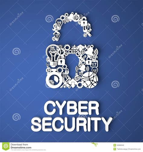 cyber security concept stock photo image