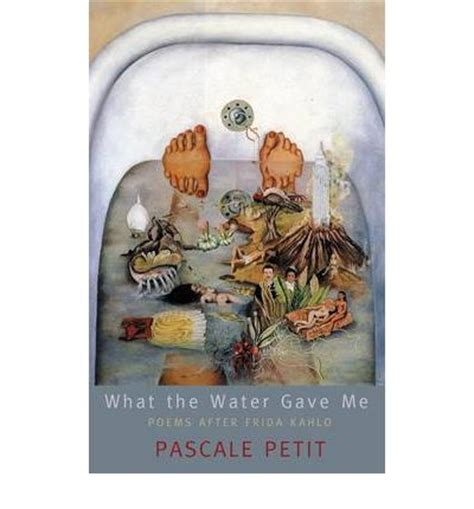 pascale petit what the water gave me what the water gave me pascale petit 9781854115157