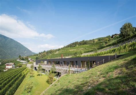 Spectacular Winery Architecture in Bozen, Italy